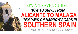 spain travels, spain travel destinations, alicante, malaga, granada, sierra nevada